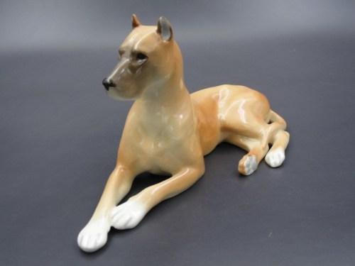 Статуэтка лфз СССР собака дог