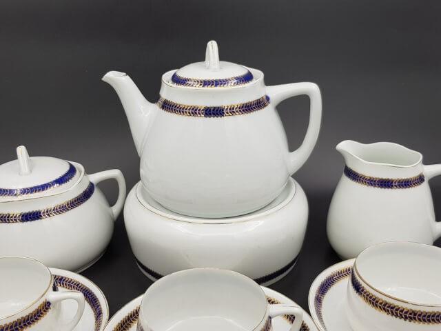 Чайный сервиз клеймо Гарднера до 1890 г