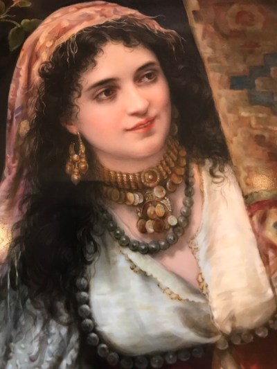 KPM Bildplatte Orientalin