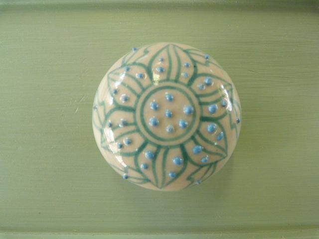Keramikknopf Sideboard