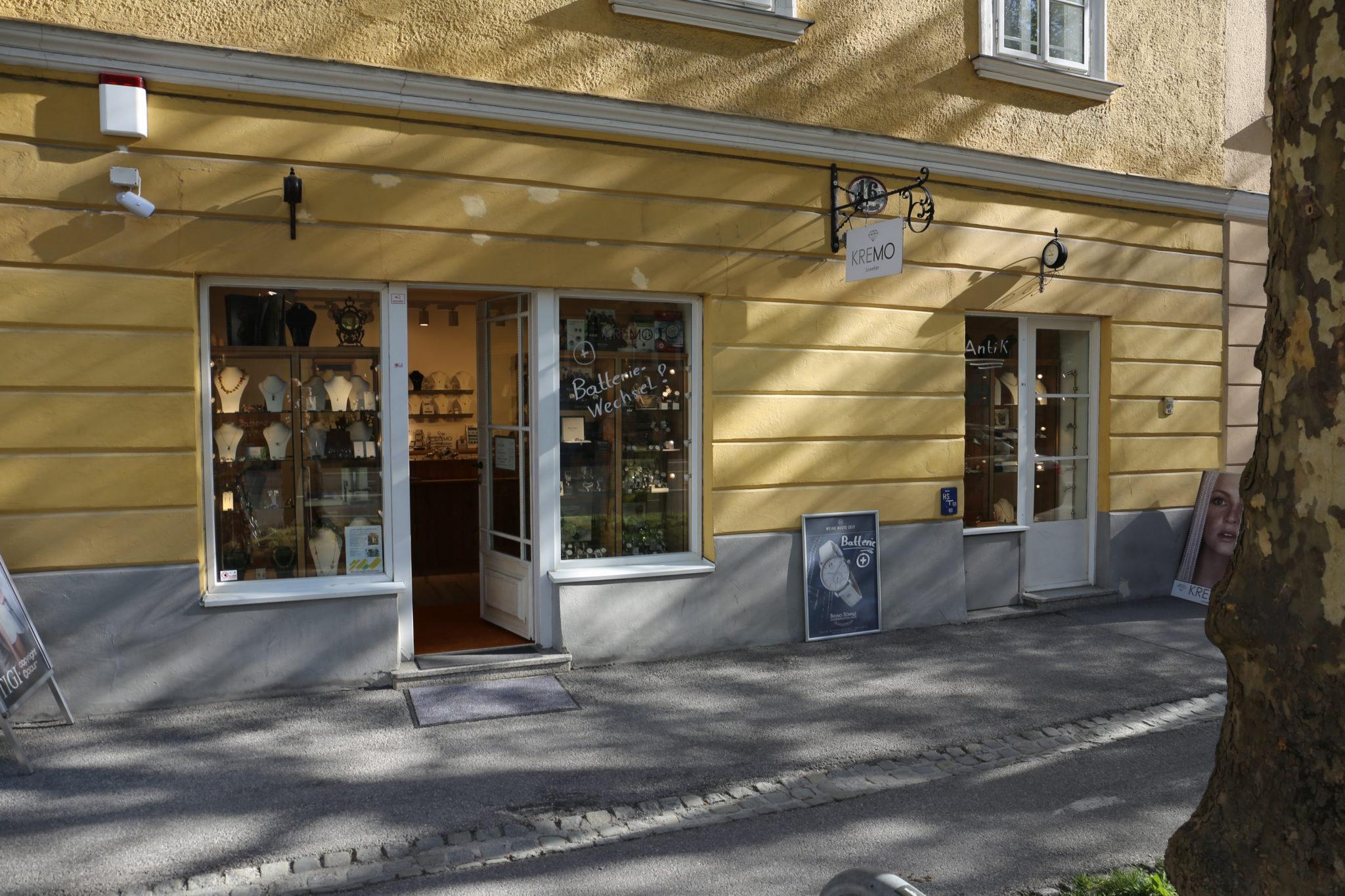 Juwelier Reinhard Maria Damisch – KREMO kreativ-modern Adresse – Öffnungszeiten