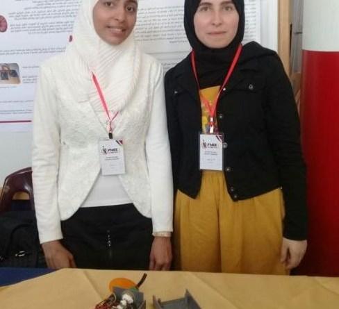 مهندسة فلسطينية بجامعة دمشق تقدّم حلولاً لآلام الفكّ الصدغيّ