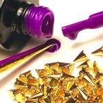 IshtarNails Sweety Gel Violet Fluo 1