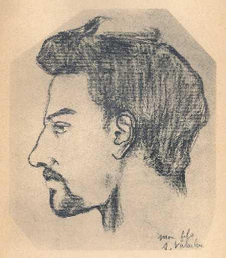 Portrait de Maurice Utrillo