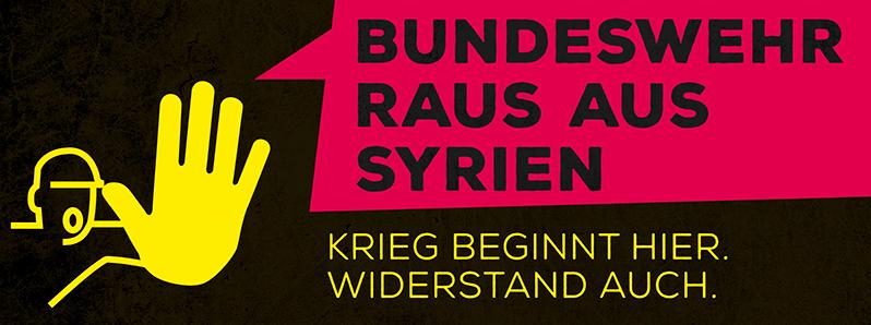 Bundeswehr raus aus Syrien