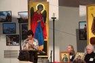 Выступает глава «Центра св. Фивы» Анн-Мари Месера.