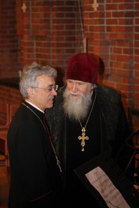 Протоиерей Реморов и Иосиф Верт.