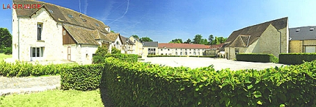 La grange de la ferme du manet - Montigny le Bretoneux
