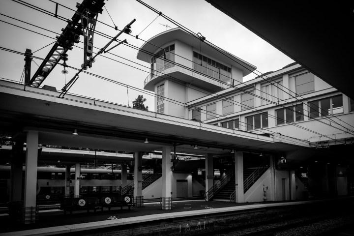 Gare Art Déco à Versailles Chantiers