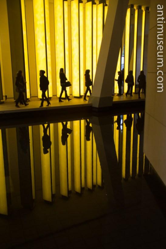 Louis Vuitton museum in Paris. Olafur Eliasson