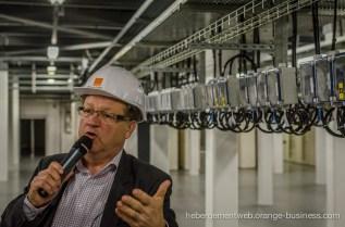 Visit of an Orange Business Services data center