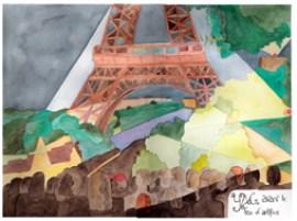 La tour Eiffel, version finale