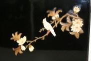 Coffret formant Album photo en laque noire, Japon