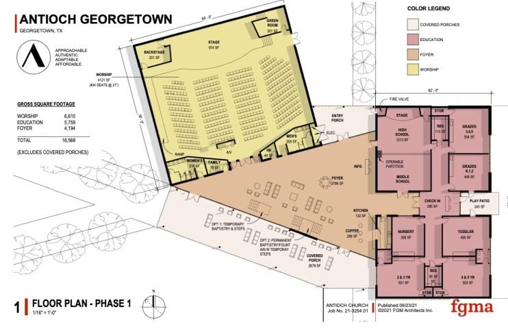 Antioch G'Town Floorplan
