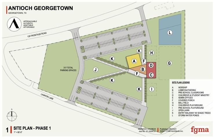 Antioch G'Town Site Plan