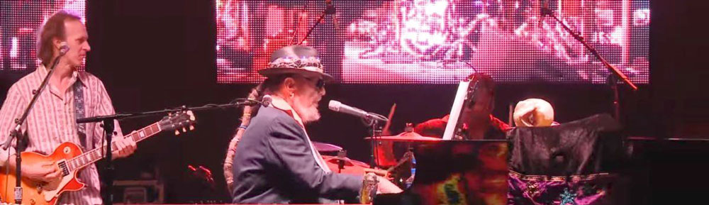 Dr John the Night Tripper passes