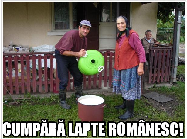Povestea laptelui românesc