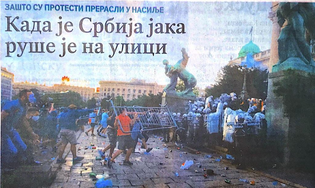 SERBIE • Pourquoi Belgrade s'est soulevée?