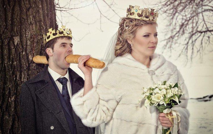 23 cамых эпичных фотографий великой и могучей русской свадьбы