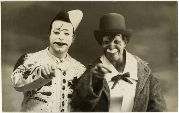 Клоуны, 1900-е годы