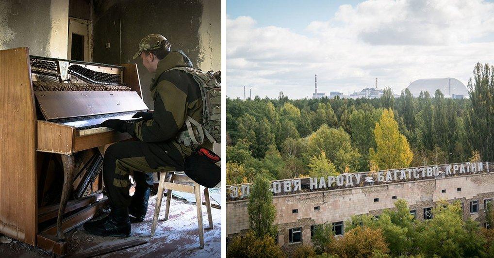 Сталкеры, заночевавшие в Чернобыле: 30 зрелищных фото