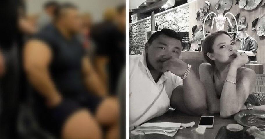 Линдси Лохан встречается с корейским бодибилдером-миллиардером