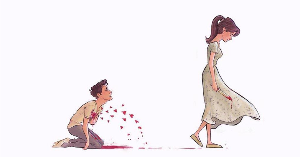 Эти иллюстрации будут близки всем, кто хоть раз был влюблен