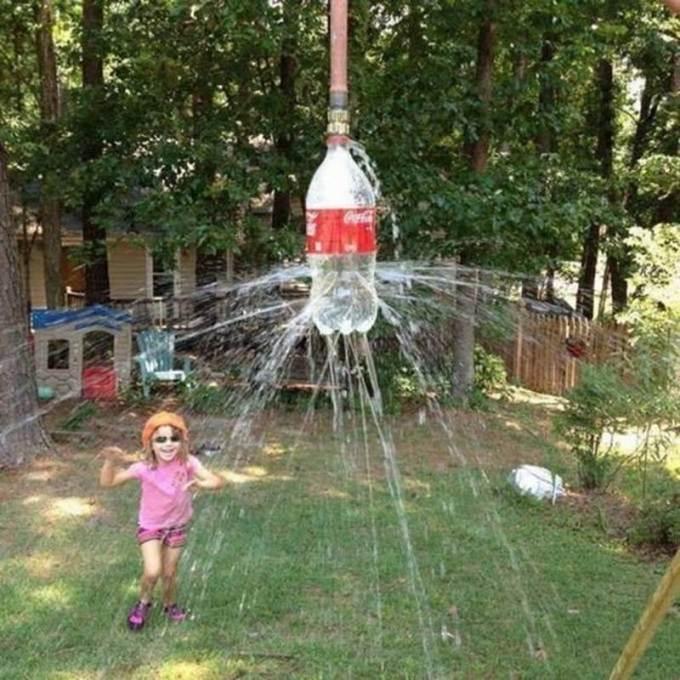 Креативные летние душевые и бассейны