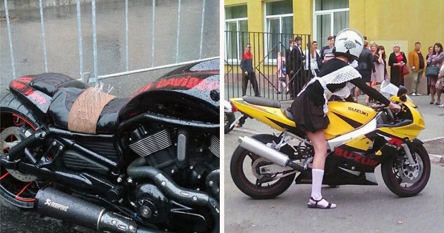 не принято говорить об этих проблемах мотоциклистов
