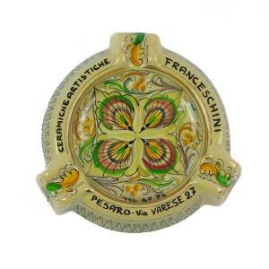 posacenere ceramica artistica Franceschini Pesaro