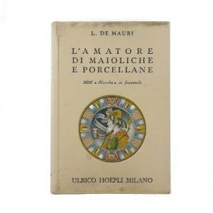 Manuale hoepli l'amatore di ceramiche e porcellane
