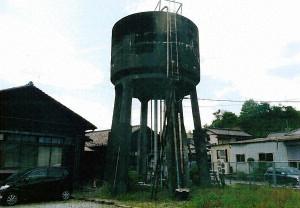 天竜浜名湖鉄道運転区高架貯水槽