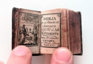 The Worlds Smallest Bible sold at auction in 2017