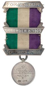 a genuine Suffragette medal
