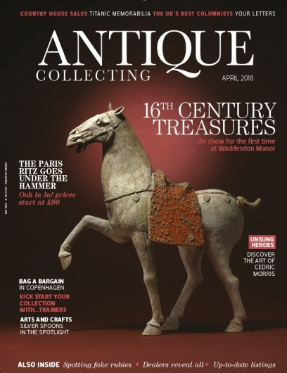 Antique Collecting April front cover