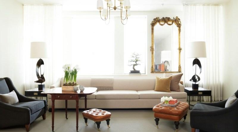 Antique furniture in modern interior by Mr Call Designs