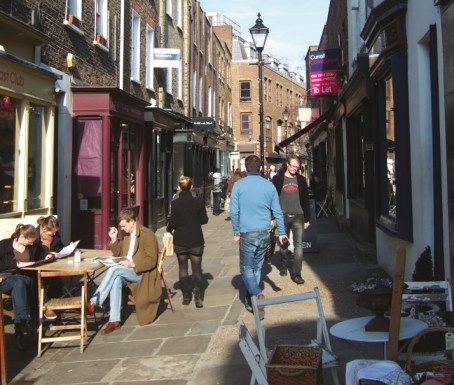 Camden Passage is a key London antiques destination