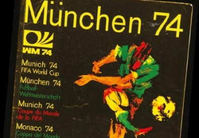 Collecting World Cup memorabilia - a Panini 1974 sticker album