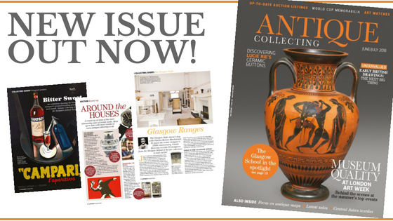 Latest issue of Antique Collecting magazine out now