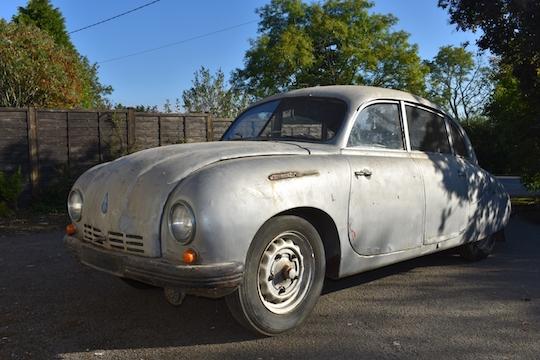 1950 Tatra car - the Tatraplan 1