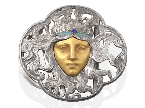 The Rene Lalique Buckle in the North Yorkshire sale