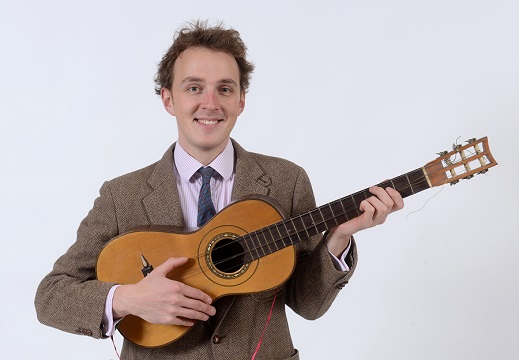 The antique Spanish guitar in Charterhouse sale