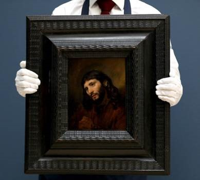 The Rembrandt painting that sold for £9.5m at Sotheby's