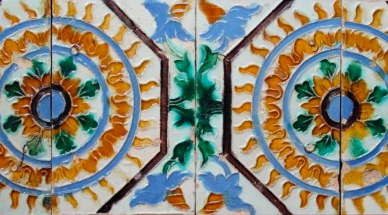 Antique 16th Century tiles from Seville