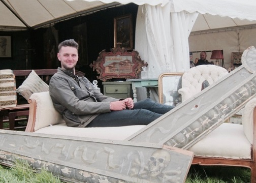 Matt Dixon at Ripley Decorative Home & Salvage Show