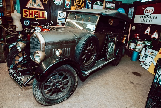 The 1927 Humber car