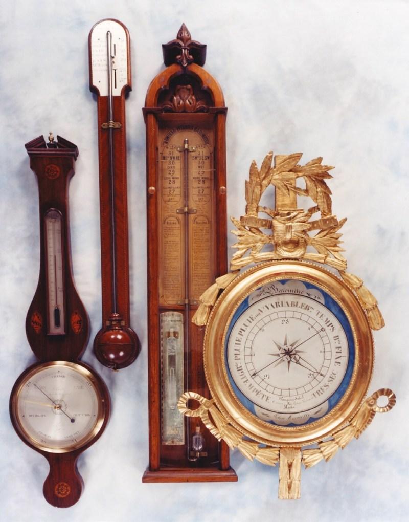Antique barometers