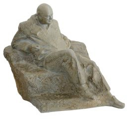 The Winston Churchill maquette