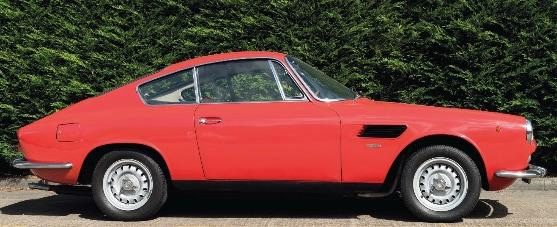 Asa 1000GT coupe, 1965, smartly finished in classic rosso and presented with factory original Borrani wheels (estimate: £50,000-80,000)