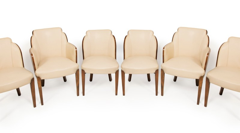 These antique chairs from the 1930s have a low carbon footprint